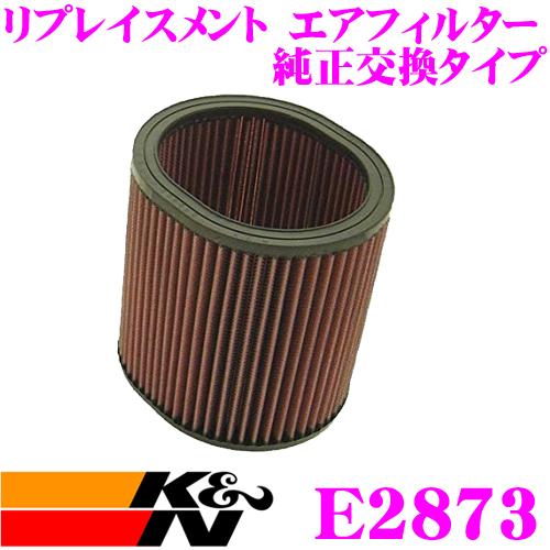 K&N 純正交換フィルター E-2873ミツビシ D03W シャリオ / シャリオグランディス用などリプレイスメント ビルトインエアフィルター純正品番MD607648対応