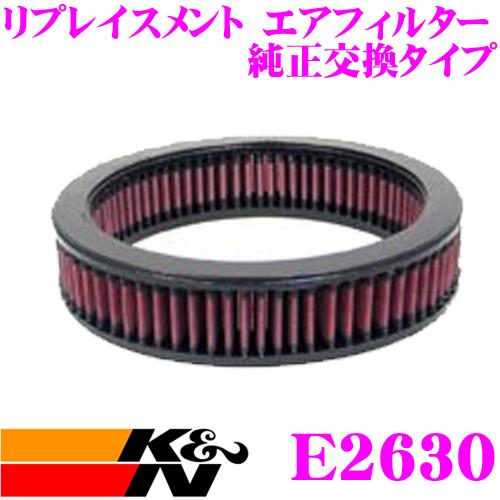 K&N 純正交換フィルター E-2630BMW 2002/2002Tii 用リプレイスメント ビルトインエアフィルター純正品番13711256410 / 13720742120対応
