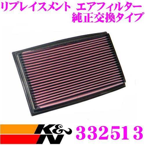 K&N 純正交換フィルター 33-2513メルセデス・ベンツ C-CLASS 201 用リプレイスメント ビルトインエアフィルター純正品番:1020940004対応