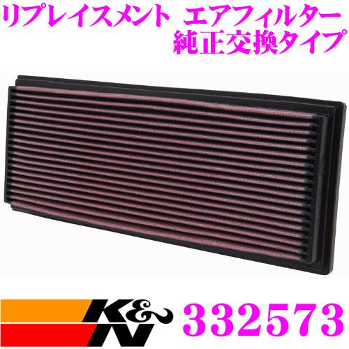 K&N 純正交換フィルター 33-2573BMW アルピナE34 など用リプレイスメント ビルトインエアフィルター純正品番:13721707021対応