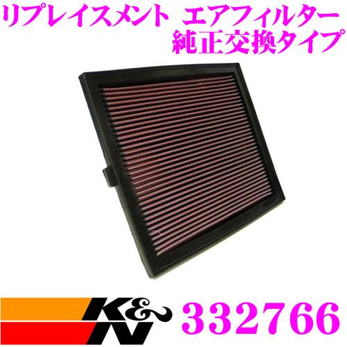 K&N 純正交換フィルター 33-2766メルセデス・ベンツ V-CLASS 638用リプレイスメント ビルトインエアフィルター純正品番:6380900051/6380900151対応