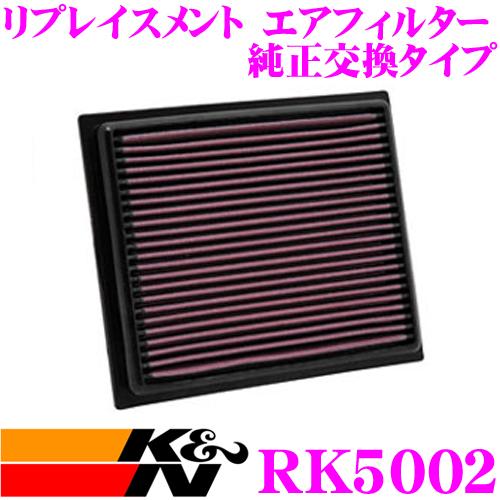 K&N 純正交換フィルター 33-3118ホンダ ジェイド用リプレイスメント ビルトインエアフィルター純正品番:17220-5M1-H00など対応
