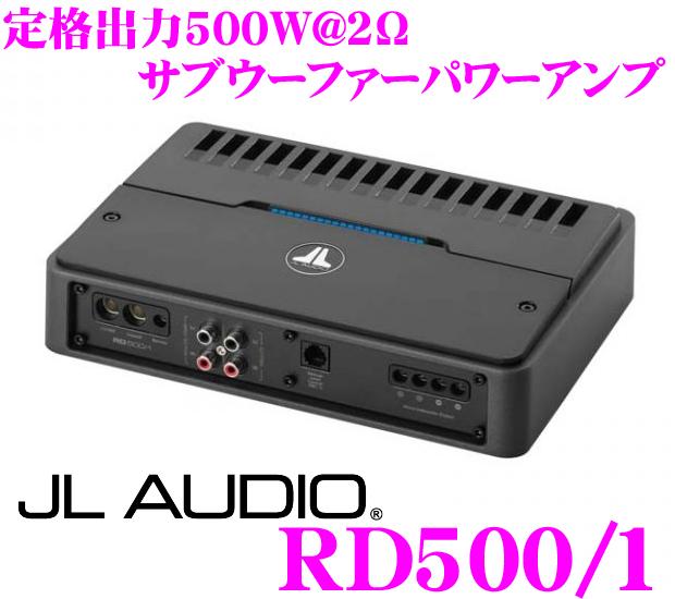 JL AUDIO ジェイエルオーディオ RD500/1NexD Ultra-High Speed Class D500W(@2Ω)サブウーファーパワーアンプ