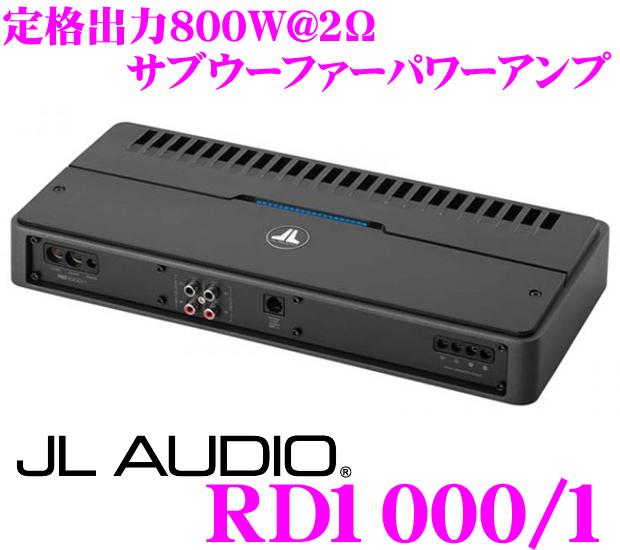 JL AUDIO ジェイエルオーディオ RD1000/1NexD Ultra-High Speed Class D800W(@2Ω)サブウーファーパワーアンプ
