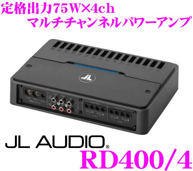 JL AUDIO ジェイエルオーディオ RD400/4 NexD Ultra-High Speed Class D 75W×4chパワーアンプ
