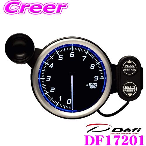 Defi デフィ 日本精機 DF17201 Racer Gauge N2(レーサーゲージN2) レーサーゲージ タコメーター 【サイズ:φ80/照明カラー:ホワイト/表示範囲:9000RPMまで】