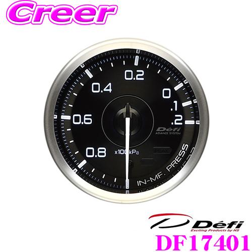 Defi デフィ 日本精機 DF17401Defi-Link Meter (デフィリンクメーター)アドバンス A1 インテークマニホールドプレッシャー計 -100kPa~+20kPaモデル【サイズ:φ60/文字板:黒】