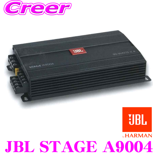 Space-saving car amplifier 90W 4ch spare tire setting type subwoofer for  the JBL Jay B L JBL STAGE A9004@4Ω vehicle installation