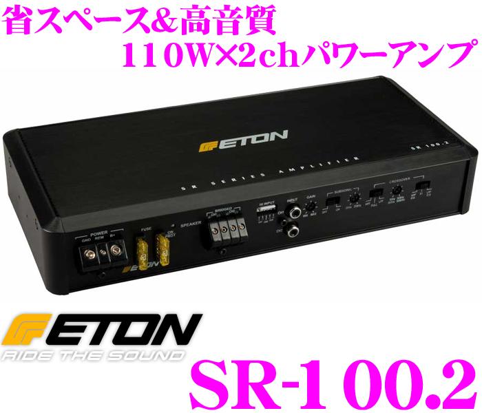 ETON イートン SR-100.2 110W×2chステレオパワーアンプ