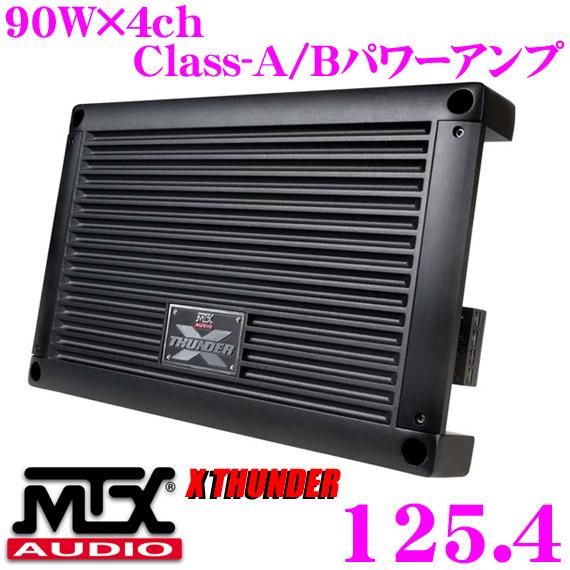 MTX Audio XTHUNDER 125.4 90W×4chパワーアンプ