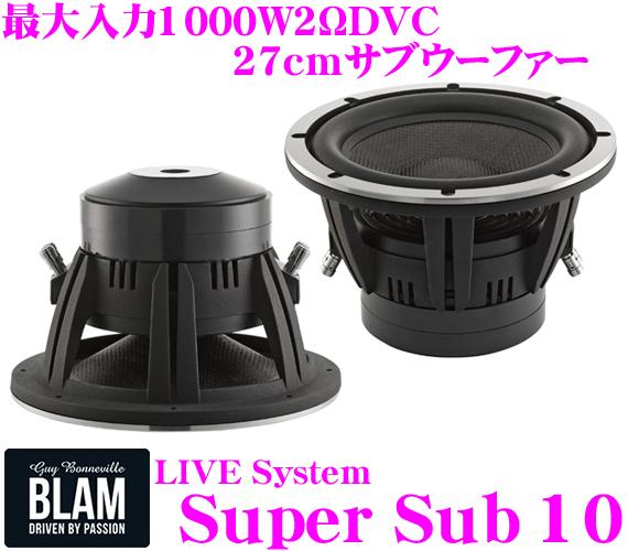 브람 BLAM LiveSystem Super Sub 10 27 cm(10 inch) 서브우퍼