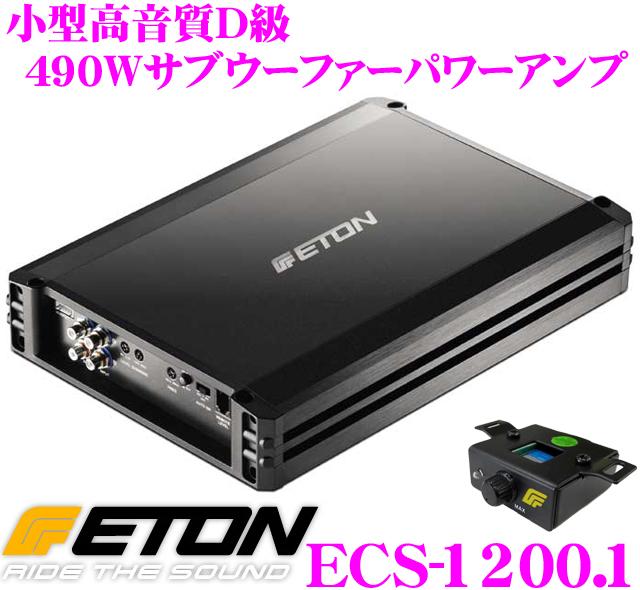 ETON イートン ECS-1200.1 490Wモノラルサブウーファーパワーアンプ