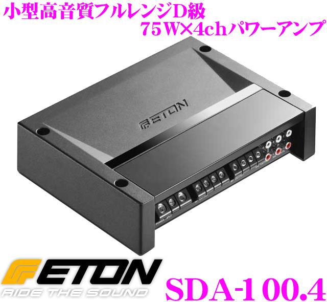 ETON イートン SDA-100.4 75W×4chステレオパワーアンプ