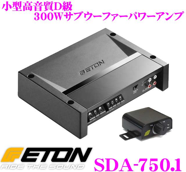 【日本正規品!!送料無料!!カードOK!!】 ETON イートン SDA-750.1 300Wモノラルサブサブウーファーパワーアンプ