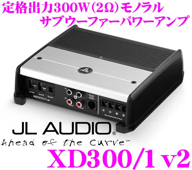 JL AUDIO ジェイエルオーディオ XD300/1v2NexD Ultra-High Speed Class D300W(@2Ω)サブウーファーパワーアンプ
