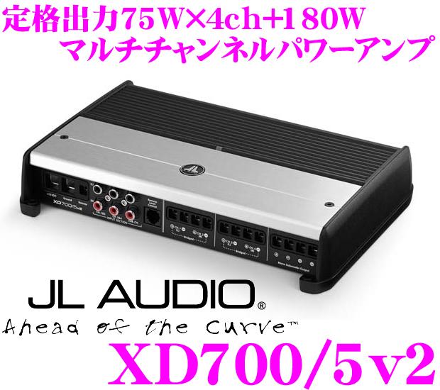 JL AUDIO ジェイエルオーディオ XD700/5v2 NexD Ultra-High Speed Class D 75W×4+180Wパワーアンプ