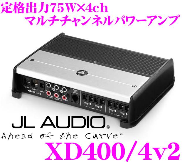 JL AUDIO ジェイエルオーディオ XD400/4v2NexD Ultra-High Speed Class D75W×4パワーアンプ