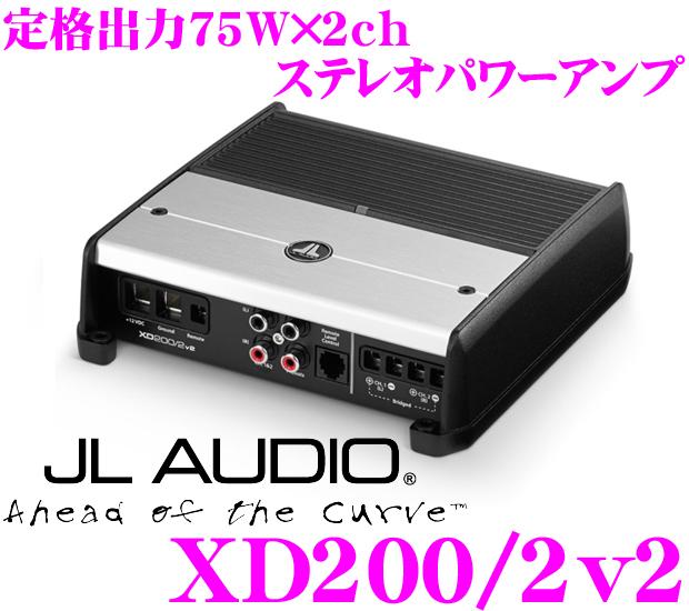 JL AUDIO ジェイエルオーディオ XD200/2v2NexD Ultra-High Speed Class D75W×2パワーアンプ