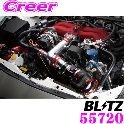 BLITZ ブリッツ 55720 三菱 CZ4A ランサーエボリューション用 SUCTION KIT RED サクションキット レッド