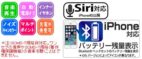 Kashimura Kashimura BL-63 Bluetooth earphone microphone indicator /  equalizer hands-free headset Bluetooth standard ver color for  4 1: Black