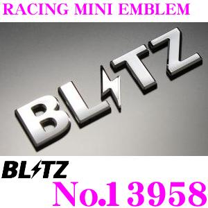 送料無料 おしゃれ BLITZ ブリッツ 13958 大人気 レーシングエンブレム