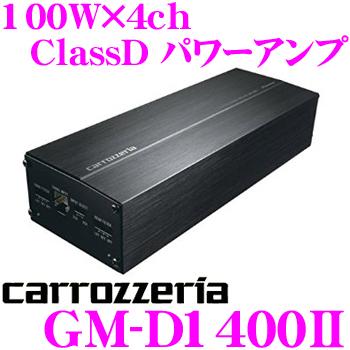 카롯트리아 GM-D1400II 100 W×4 ch Class D브릿쟈브르파워안프