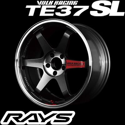 RAYS レイズ VOLK RACING TE37SL ボルクレーシング TE37SL 18インチ 8.5J PCD:100 穴数:5 インセット:45 カラー:プレスドグラファイト