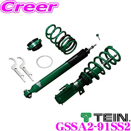 TEIN テイン STREET ADVANCE Z GSSA2-91SS2減衰力16段階車高調整式ダンパーキットスバル SJG フォレスター用3年6万キロ保証