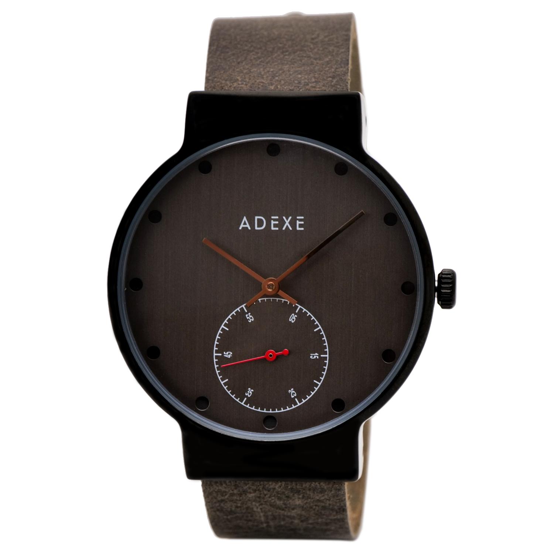 1年保証 ポイント10倍 低廉 海外並行輸入正規品 送料無料 ADEXE レディース 腕時計 2033E-02 ストラップ2本付き アナログウォッチ 本革ベルト ホワイトデー