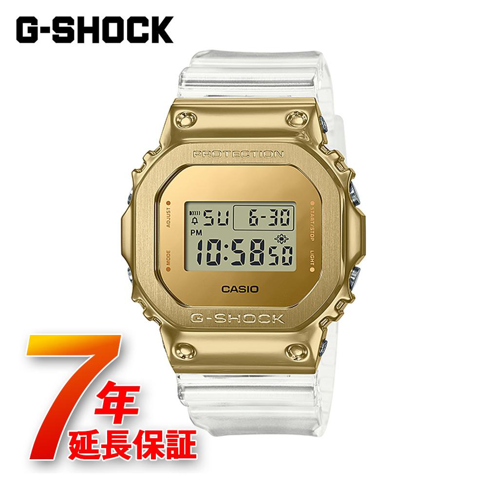 送料無料 新作販売 7年延長保証 G-SHOCK CASIO 販売 カシオ ウォッチ クリア GM-5600SG-9JF 腕時計 メタルカバード