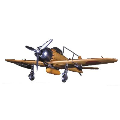 【レーザーカット加工】零戦 零式艦上戦闘機 52丙型木製模型 1/24スケール【代引不可】