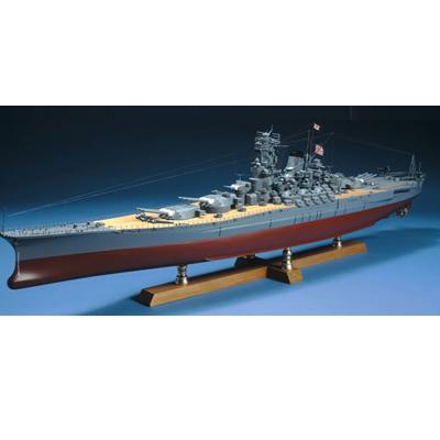 【レーザーカット加工】1/250 戦艦 大和【ウッディジョーの木製模型】WoodyJOE【代引不可】