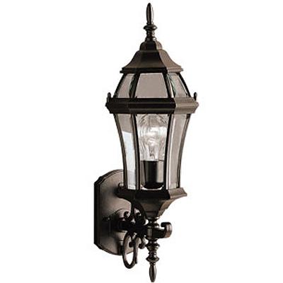 KICHLER(キチラー)Townhouseコレクション1灯式の防雨形ブラケットライトKIC-9790BK LED【代引不可】