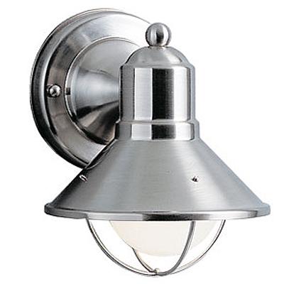 KICHLER(キチラー)Seasideコレクション1灯式の防雨形ブラケットライトKIC-9021NI【代引不可】