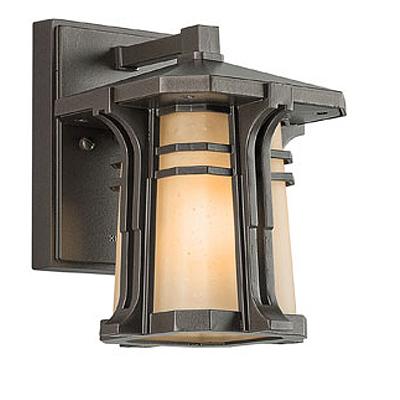 KICHLER(キチラー)North Creekコレクション1灯式の防雨形ブラケットライトKIC-49174OZ【代引不可】