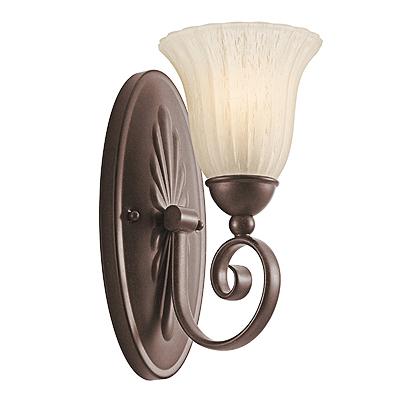 KICHLER(キチラー)Willowmoreコレクション1灯式の屋内用ブラケットライトKIC-5926TZ【代引不可】