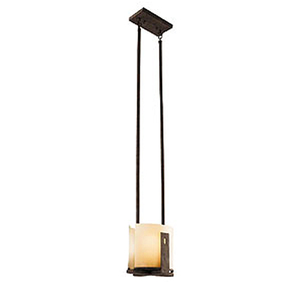 KICHLER(キチラー)Montaraコレクション1灯式の屋内用シーリングライトKIC-42179OI【代引不可】