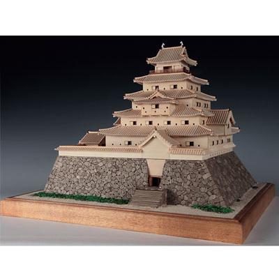 【日本製】木製1/150 鶴ヶ城【ウッディジョーの木製模型】WoodyJOE 鶴ケ城【代引不可】
