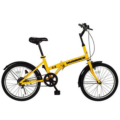 ミムゴ HUMMER(ハマー) 20インチ 折りたたみ自転車 MG-HM20RFDB20R【代引不可】