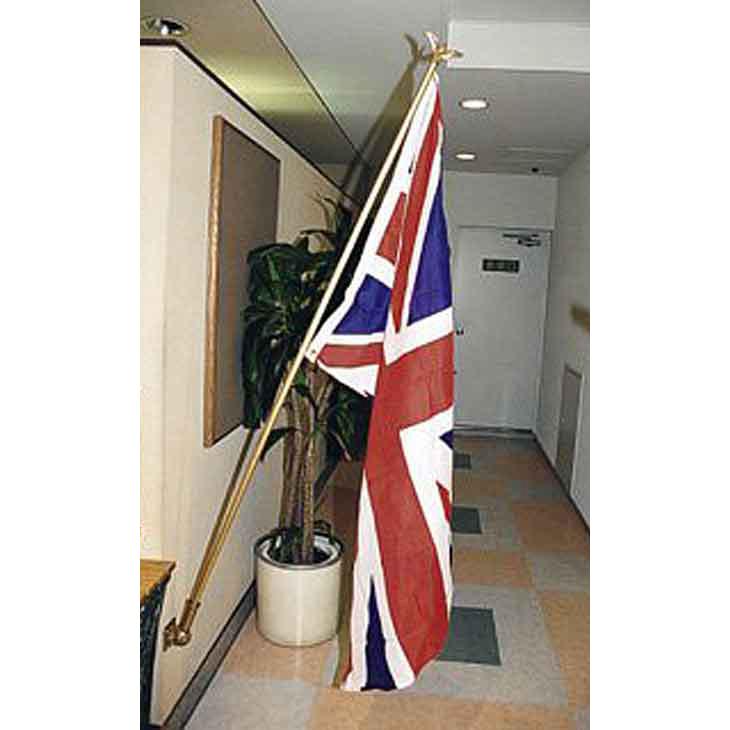 【ジャービス商事】国旗 DXイギリス型 27002 150×80cm【壁付け可能】【代引不可】