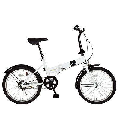 ミムゴ CHEVROLET(シボレー) 20インチ 折りたたみ自転車 MG-CV20R FDB20R【代引不可】
