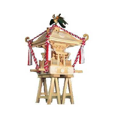 【日本製】建築1/5 町神輿【ウッディジョーの木製模型】WoodyJOE 町みこし【代引不可】