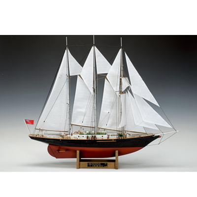 【日本製】帆船1/75 サー・ウィンストン・チャーチル【ウッディジョーの木製模型】WoodyJOE【代引不可】