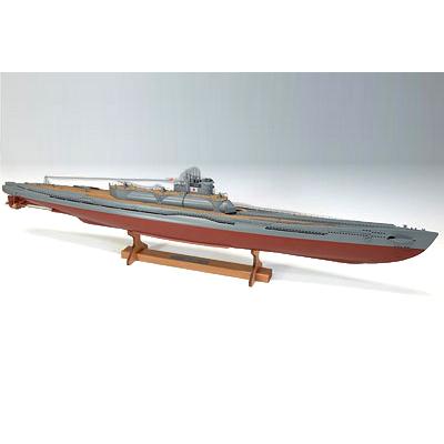 【日本製】1/144 伊400 日本特型潜水艦【ウッディジョーの木製模型】伊号 WoodyJOE【代引不可】