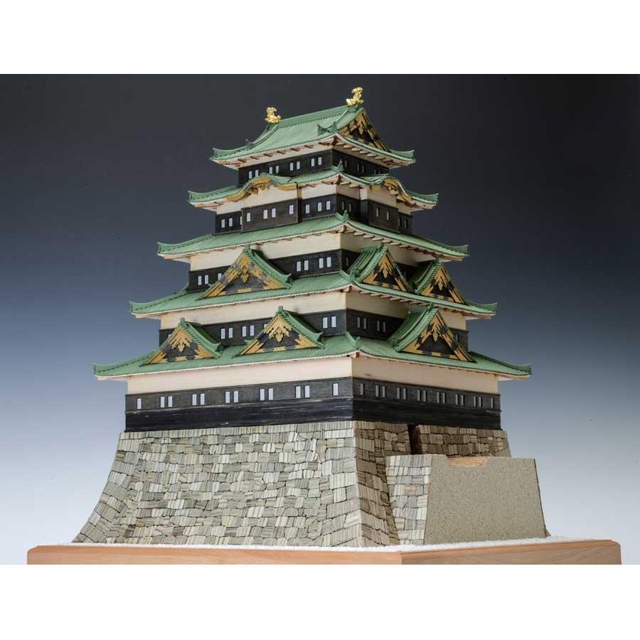 【日本製】建築1/150 江戸城【ウッディジョーの木製模型】WoodyJOE【代引不可】