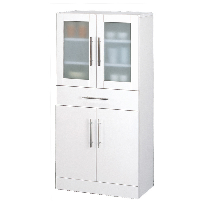 クロシオ カトレア食器棚 60-120 23463【代引不可】