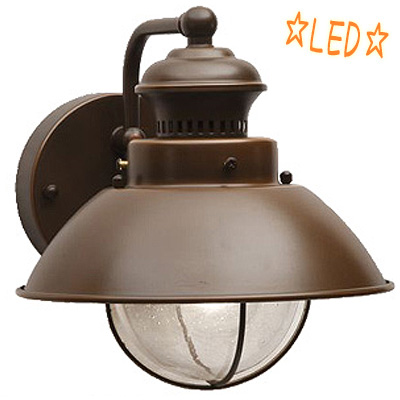 KICHLER(キチラー)1灯式 防雨形ブラケットライト VAX-1581BBZLD【E17 LED電球クリア】【代引不可】
