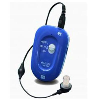 ポケット型補聴器 オリーブ ME-181【ミミー電子】【ワンタッチ操作で使いやすい】【代引不可】