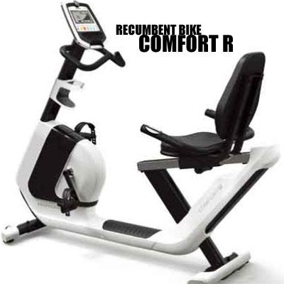 ジョンソンヘルステック(Johnson Health Tech) HORIZON リカンベントバイク COMFORT R + YHZM0007 (専用マット付き)【代引不可】コンフォートR