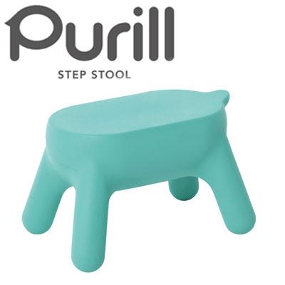【長谷川工業】 Purill PRL1.0-1(BU)【スツール 梯子 置き台 踏み台】